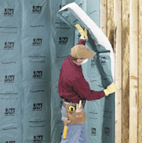 Blanket insulation for homes throughout the metro atlanta for Basement wall insulation blanket