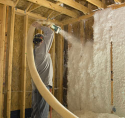 Energy insulation atlanta cumming roswell sandy for Concrete wall insulation wrap