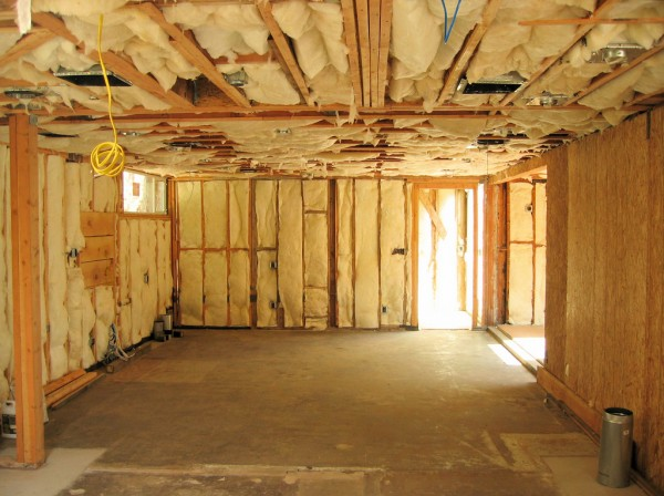 Insulation contractor raleigh nc for Basement insulation wrap