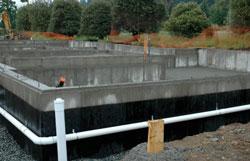 Waterproofing concrete atlanta suwanee alpharetta for Foundation blanket wrap insulation